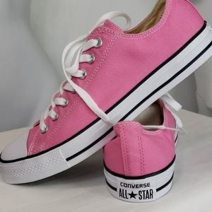 NEW Converse All Star low tops pink Womens sz 11